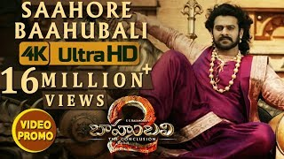 Saahore Baahubali Video Song Promo