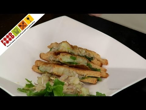Healthy Sprout Sandwich   Food Food India - Fat To Fit   Healthy Recipes