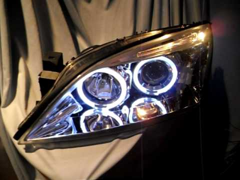 Angel Eye Scheinwerfer chrome f�r Ford Mondeo Mk3 SW-Tuning