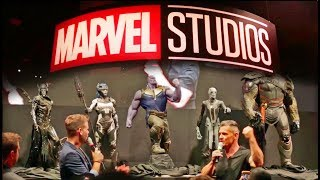 Marvel reveals Thanos Children, Infinity Gauntlet + Booth Tour at D23 Expo 2017