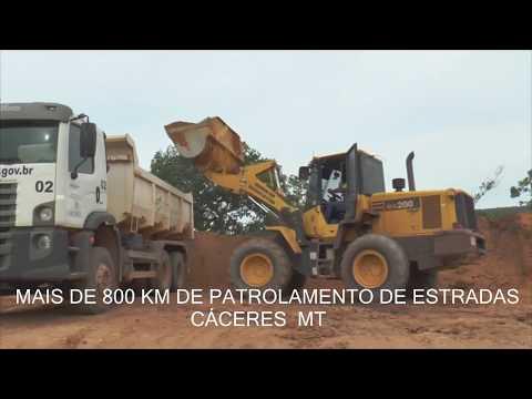 Prefeitura de Cáceres faz manutenção em mais de 800 quilometro de estrada no município em 2017