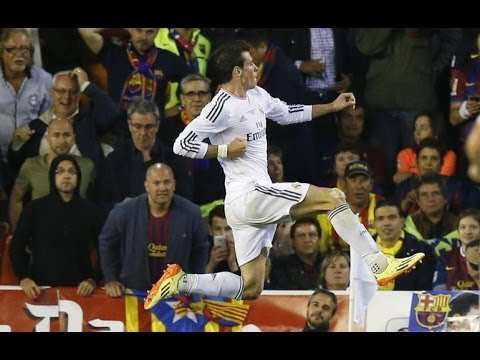 Gareth Bale Save The Day - Amazing Solo Goal - Barcelona vs Real Madrid 1-2 Final Copa Del Rey