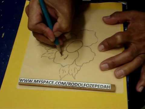 Tallando madera dibujo de ornato 6 youtube - Pintar sobre madera barnizada ...
