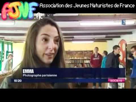 L'AJNF organise la Rencontre Internationale des Jeunes Naturistes 2012