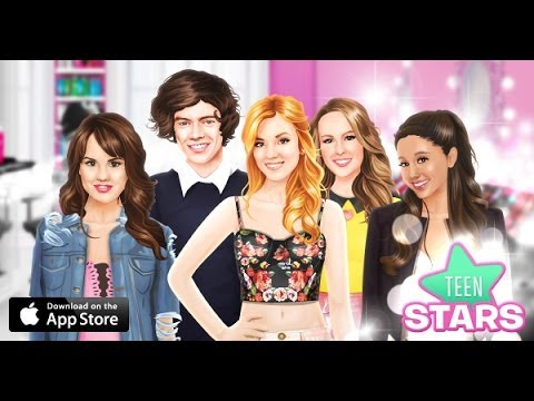 Stardoll Dress Up Teen Stars, This is a Stardoll App on dressing up some of your favorite celebrities.