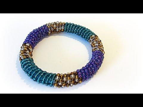 Como hacer pulseras de moda. Fashion bracelet