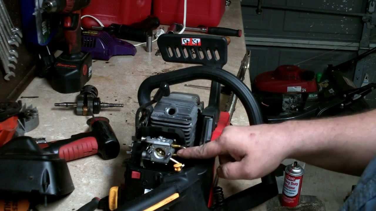 Homelite Chainsaw Repair How To Rebuild The Carburetor
