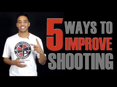 5 Ways To DRASTICALLY Improve Your Jump Shot This Off Season   Pro Talk #3   Pro Training Basketball