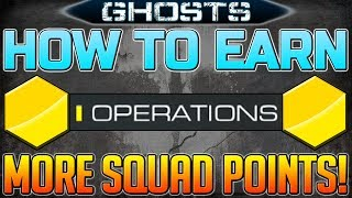 How To Get More Squad Points In Call Of Duty: Ghosts