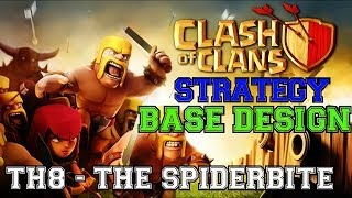 TH8 Defensive Base Review & Replays The SpiderBite