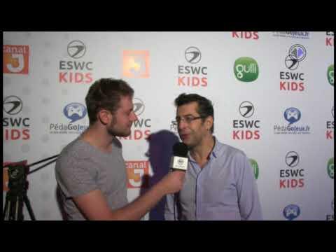 Interview de Bertrand Amar sur l'ESWC Kids