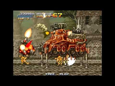 PSP Longplay [021] Metal Slug Complete - Metal Slug