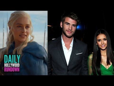 Liam Hemsworth Dating Nina Dobrev (PHOTOS!), Game of Thrones Season 4 Angry Dragons Teaser!