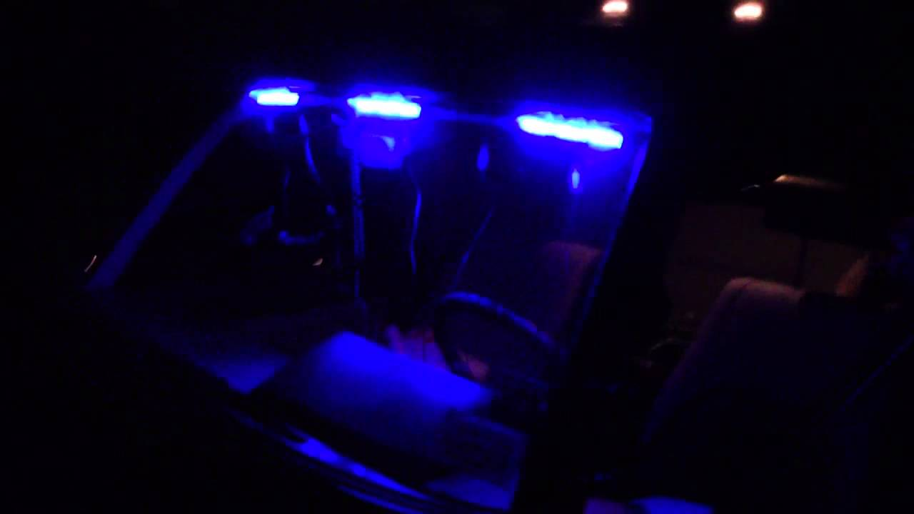 volunteer firefighter blue led lights youtube. Black Bedroom Furniture Sets. Home Design Ideas