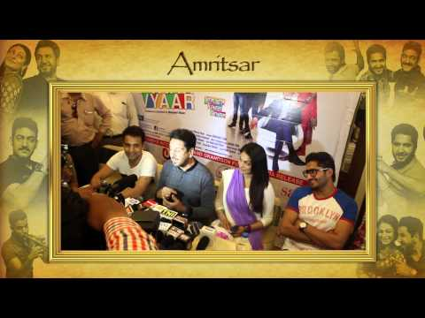 DIL VIL PYAAR VYAAR Promotion Tour - AMRITSAR - In Cinemas 2nd May