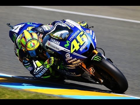 In the hot seat with Valentino Rossi at the Le Mans MotoGP 2014