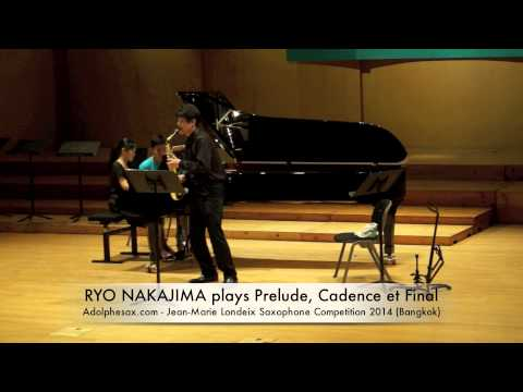 RYO NAKAJIMA plays Prelude, Cadence et Final by Alfred Desenclos