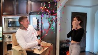 SHE WASN'T EXPECTING THIS...SURPRISE!!!