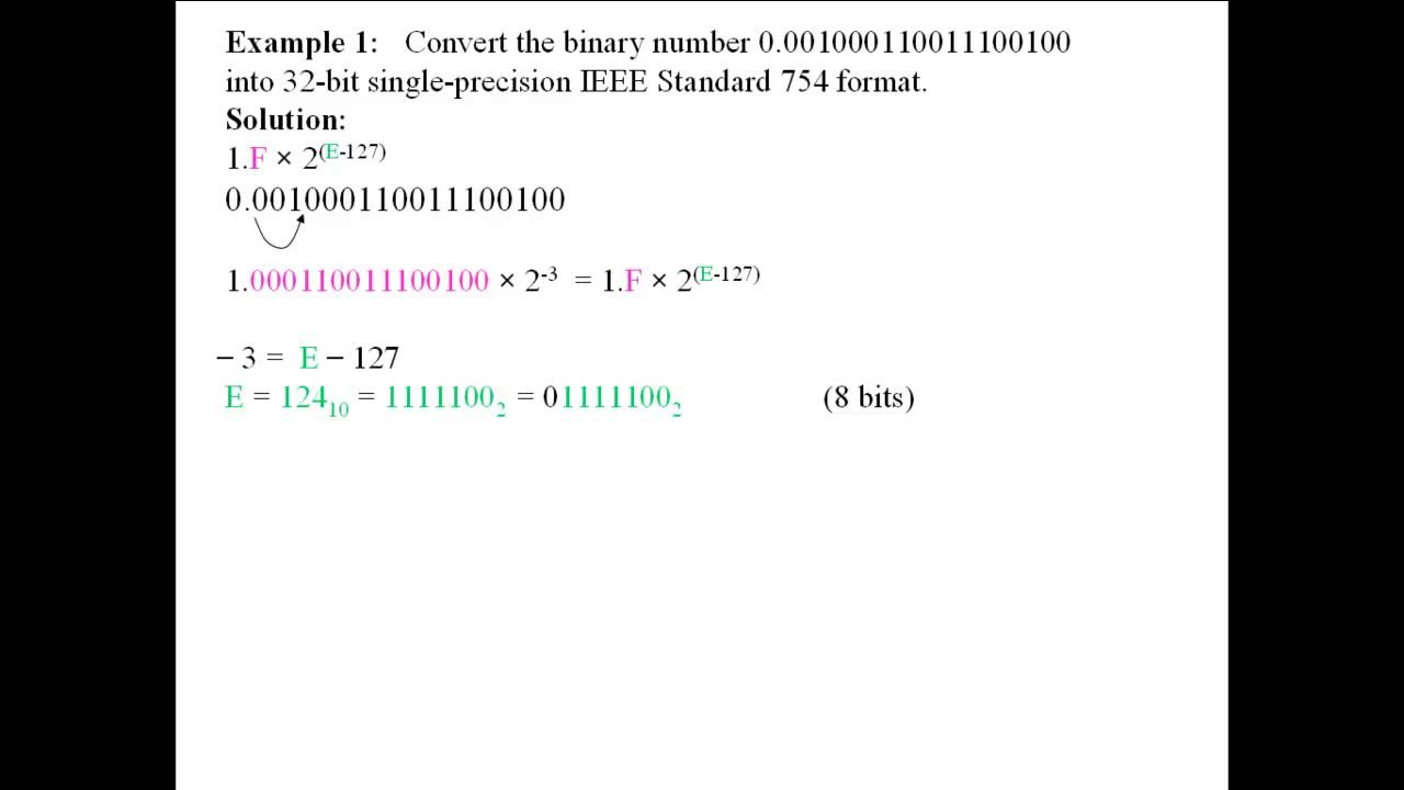 Subtracting binary numbers converter