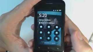 Alcatel OT 918 How To Reset Como Restablecer Datos De