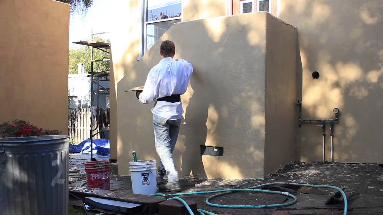 Apply santa barbara finish in 10 minutes sbsmf youtube for Mission stucco
