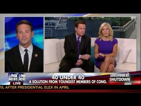 Rep. Aaron Schock Discusses Members of Congress Under 40 on Fox and Friends