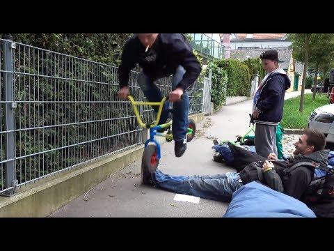 Lemmy escapes a massiv mini BMX Crash | Georgie Fechter Vlog #18