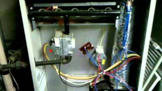 1992 Nordyne Intertherm Gas Furnace Ignition