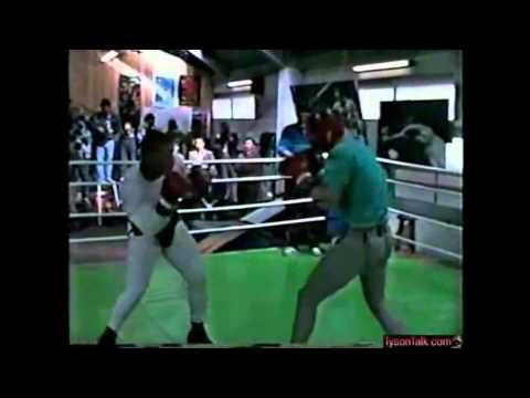 Mike Tyson Sparring Part 1