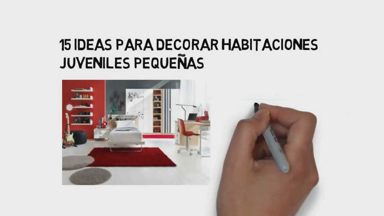 15 ideas para decorar habitaciones juveniles peque as - Ideas para habitaciones pequenas ...