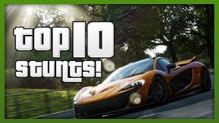 GTA 5 Stunts: TOP 10 Stunts! CRAZY Car & Bike Jumps