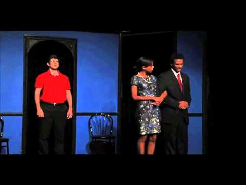 Barack Obama Cheers Up Eric Cantor (comedy sketch)  by Eileen Mary O'Connell