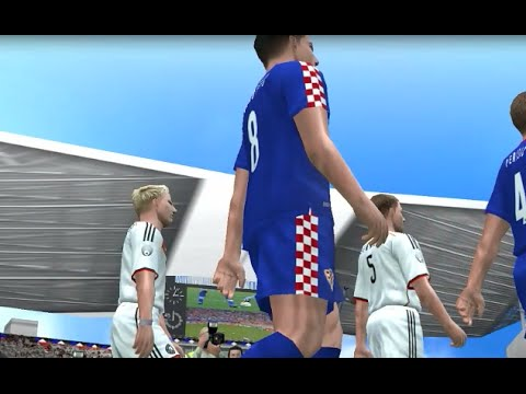 PES6 2014 Greece World Cup - Germany vs Croatia - Group H MD2