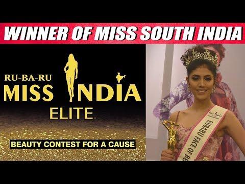 Apurvi Saini Full Speech - Winner Of Miss South India Elite 2019 - CinebillaTV