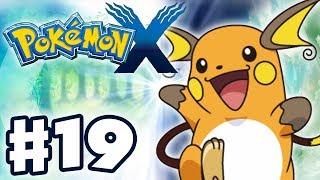 Pokemon X And Y Gameplay Walkthrough Part 19 Pikachu