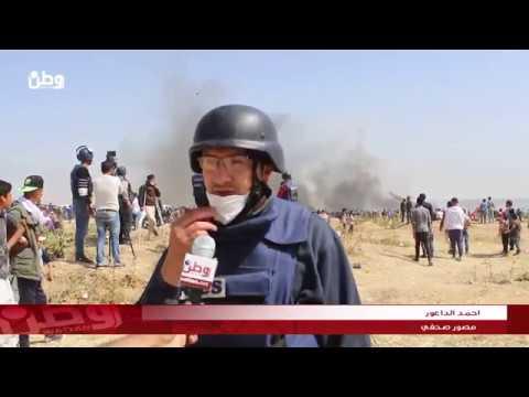 بالفيديو .. صحفيو غزة في مرمى نار جنود الاحتلال