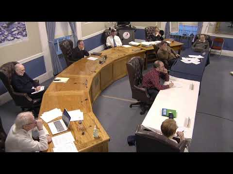 City of Plattsburgh, NY Meeting  3-12-20