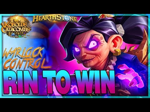 [HEARTHSTONE] RIN TO WIN -  Patch 10.2 Control Rin Warlock Deck Guide & Gameplay 🌟 Kobolds Catacombs