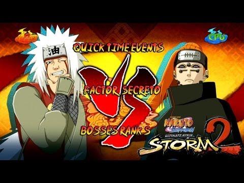Naruto Shippuden: Ultimate Ninja Storm 3 1080p Boss 8 Pain Rank S   Jiraiya vs Pain