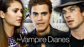 THE VAMPIRE DIARIES Cast Teases Season 6 Comic-Con 2014