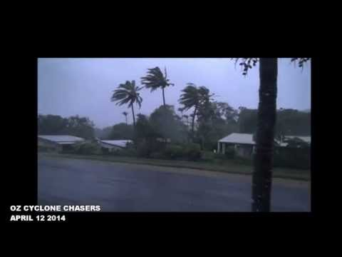 TROPICAL CYCLONE ITA - COOKTOWN - RAW FOOTAGE