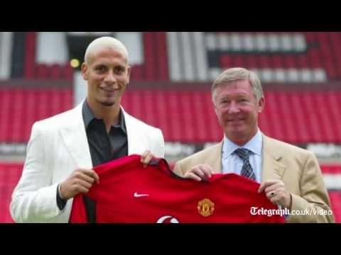 Rio Ferdinand: from Bond villain to England's best
