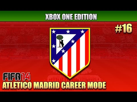 Fifa 14 - Xbox One | Atletico Madrid Career Mode | Ep.16 | MADRID DERBY!