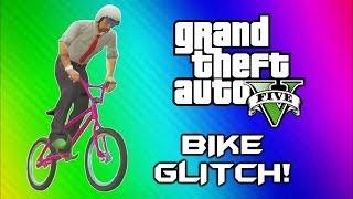GTA 5 Flying Bike Glitch! World Record, BMX Wins & Fails