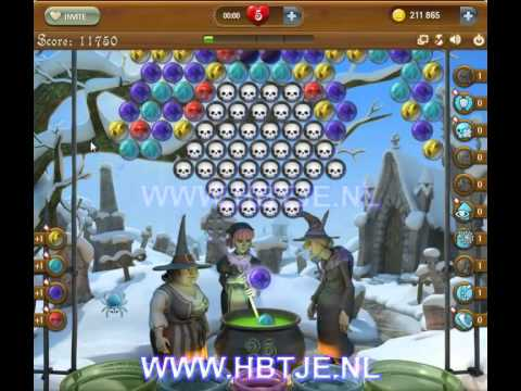 Bubble Witch Saga level 141