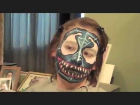 Venom Spiderman Face P...