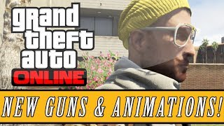 "GTA 5: DLC NEW ""Hipster Update"" DLC Weapons Antique"