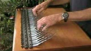 A 5 chord progression improvised on an Array mbira