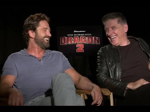 Gerard Butler and Craig Ferguson Are Jealous of Each Other In 'How To Drain Your Dragon 2'
