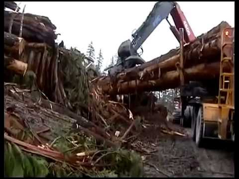 Extreme trucking on Vancouver Island